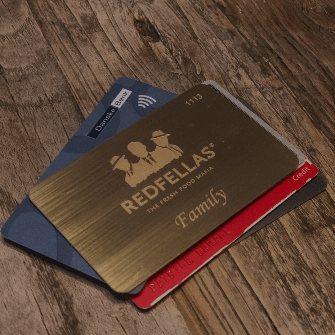 Redfellas Gold Card