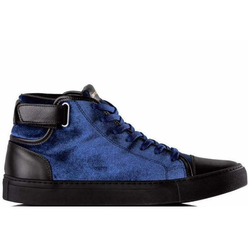 MrE Blue Velvet Sneaker