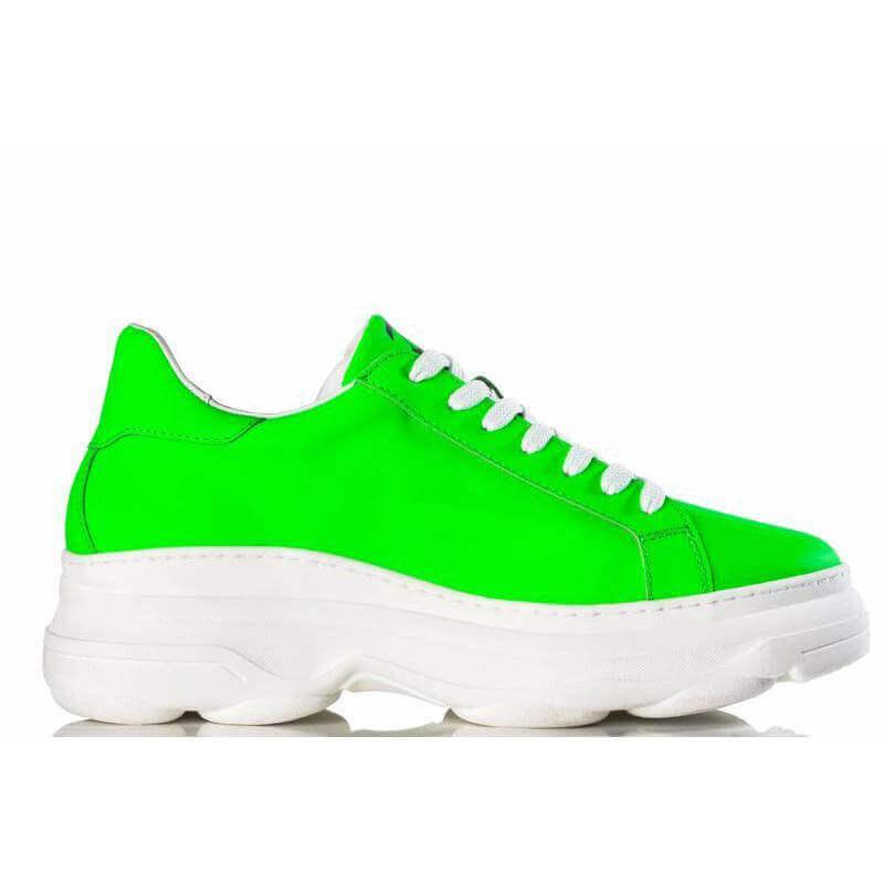 Ladies Camps Bay Green Sneaker