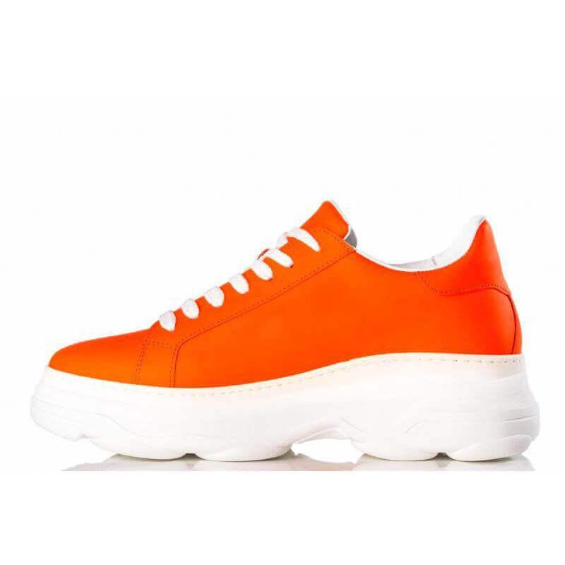 Ladies Camps Bay Orange Sneaker