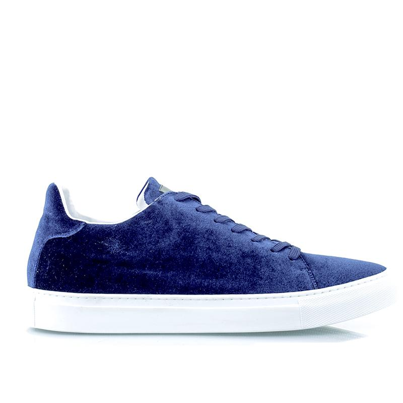 Madison Velvet Blue Sneaker