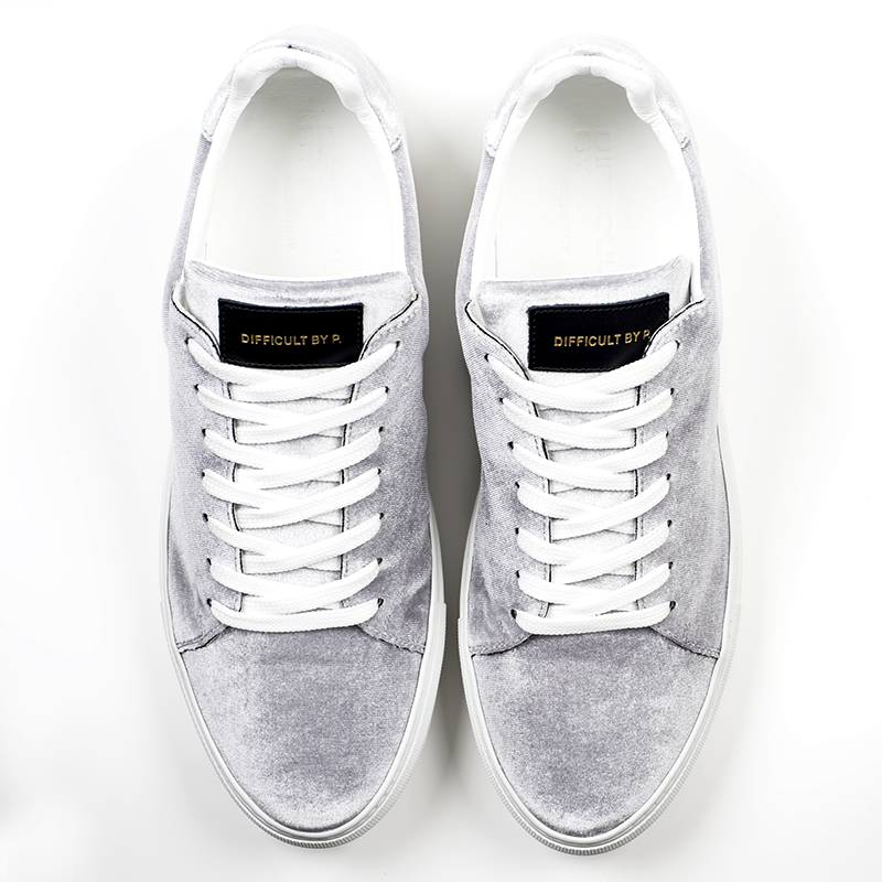 Madison Velvet Grey Sneaker
