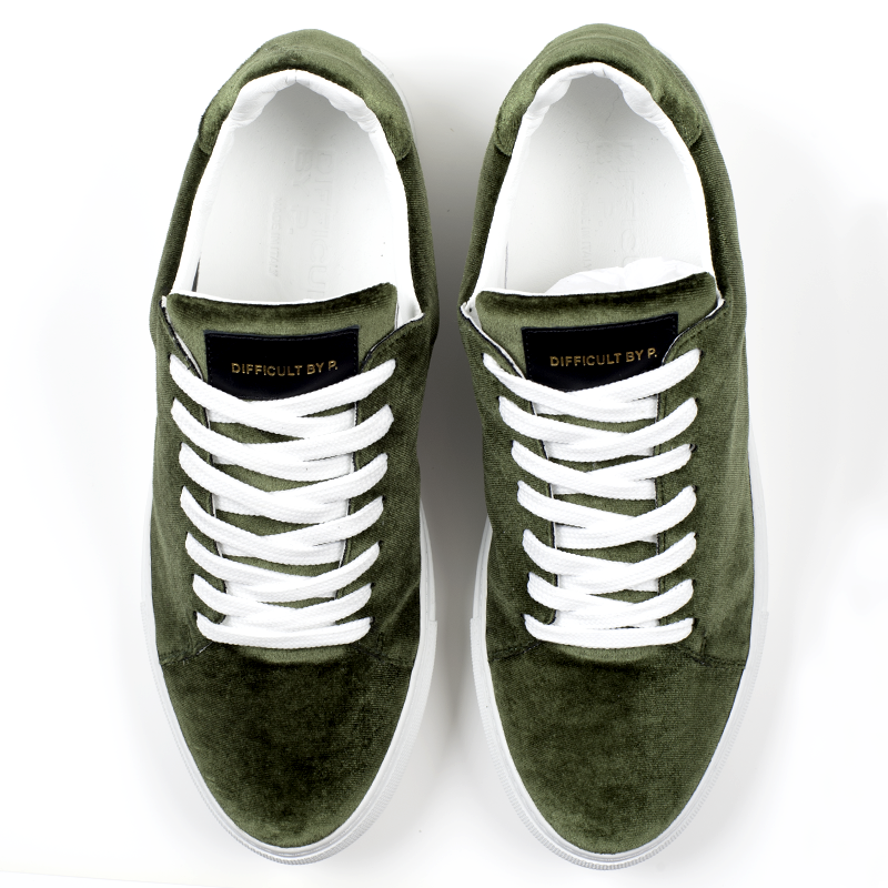 Madison Velvet Green Sneaker