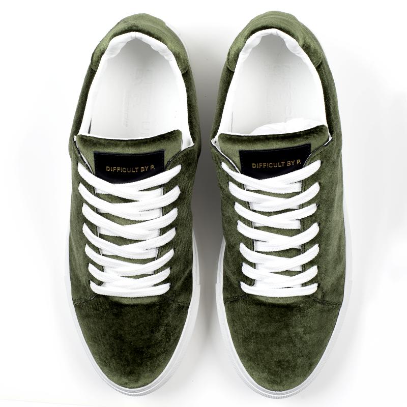 Madison Velvet Green Sneaker