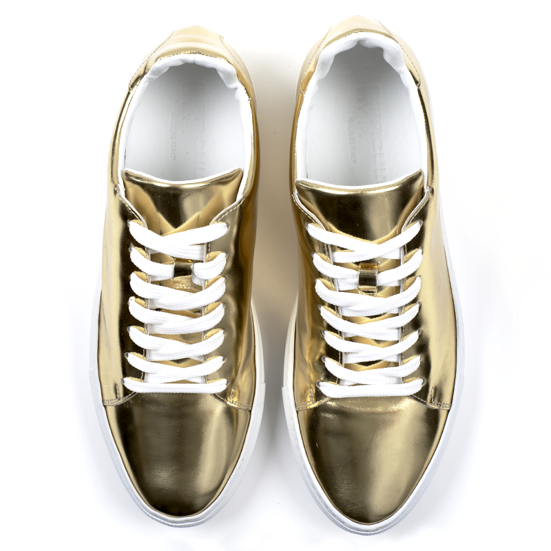 Madison Gold Sneaker