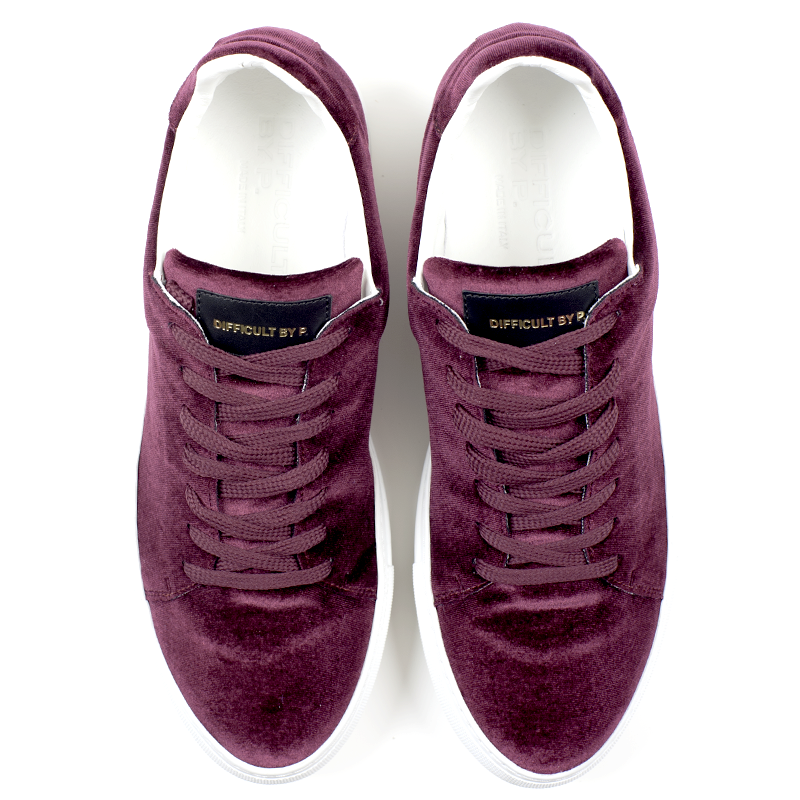 Madison Velvet Bordeaux Sneaker