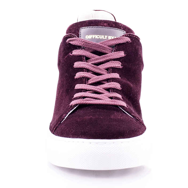 Madison Velvet Bordeaux Sneaker