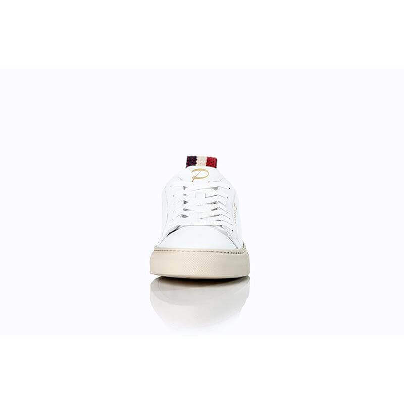 Ladies Montpellier White Sneaker