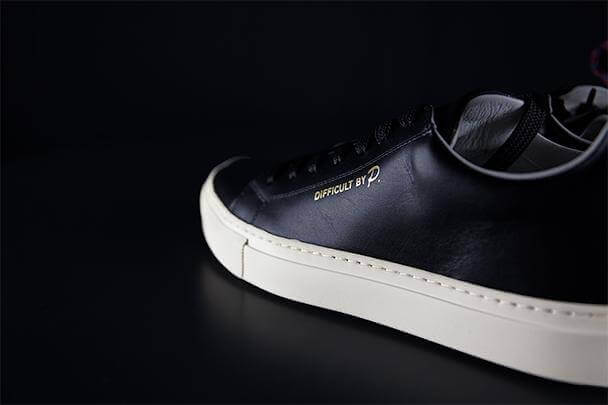 Ladies Montpellier Black Sneaker
