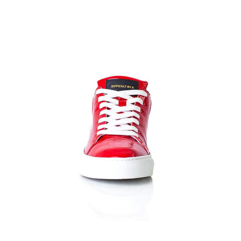 Ladies Madison Red Sneaker