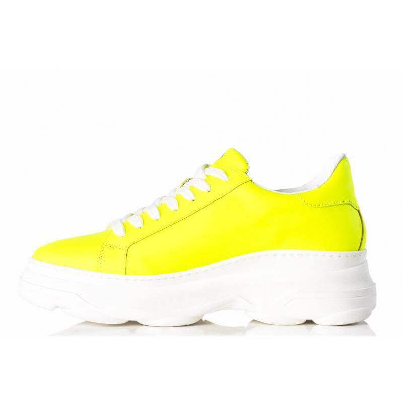 Ladies Camps Bay Yellow Sneaker