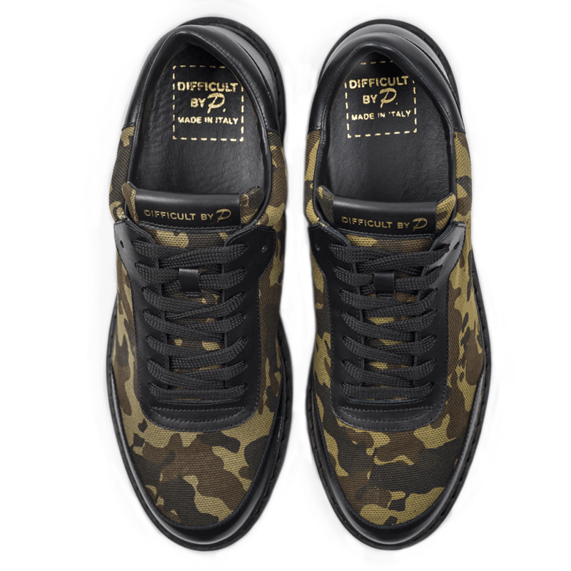 Ladies Venice Camo Sneaker (sample sale 37,38,39,40,41)