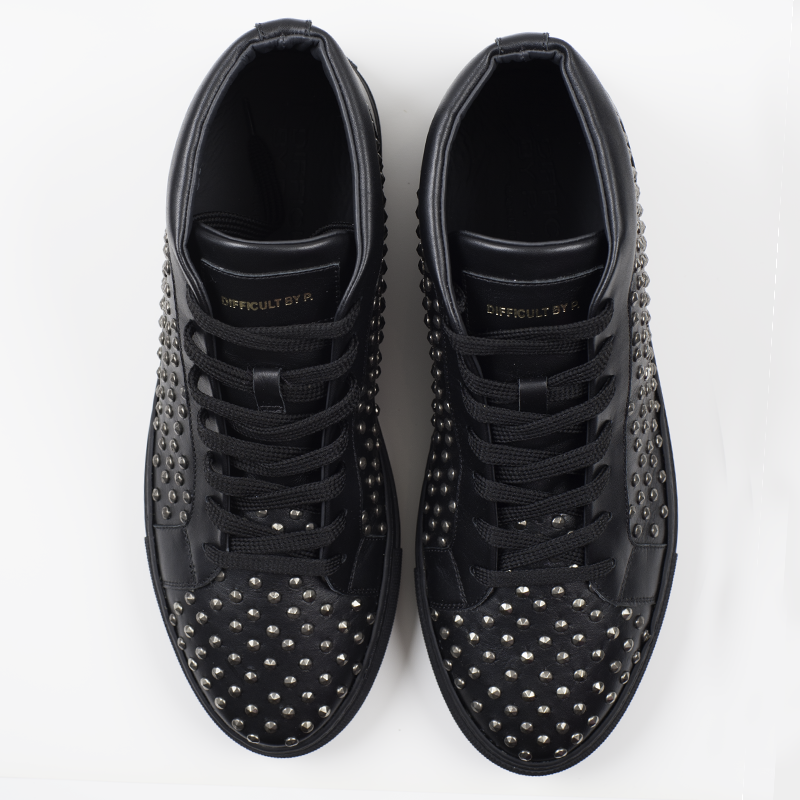 Black Studs Ltd Sneaker (Sample Sale, 40, 42, 43)