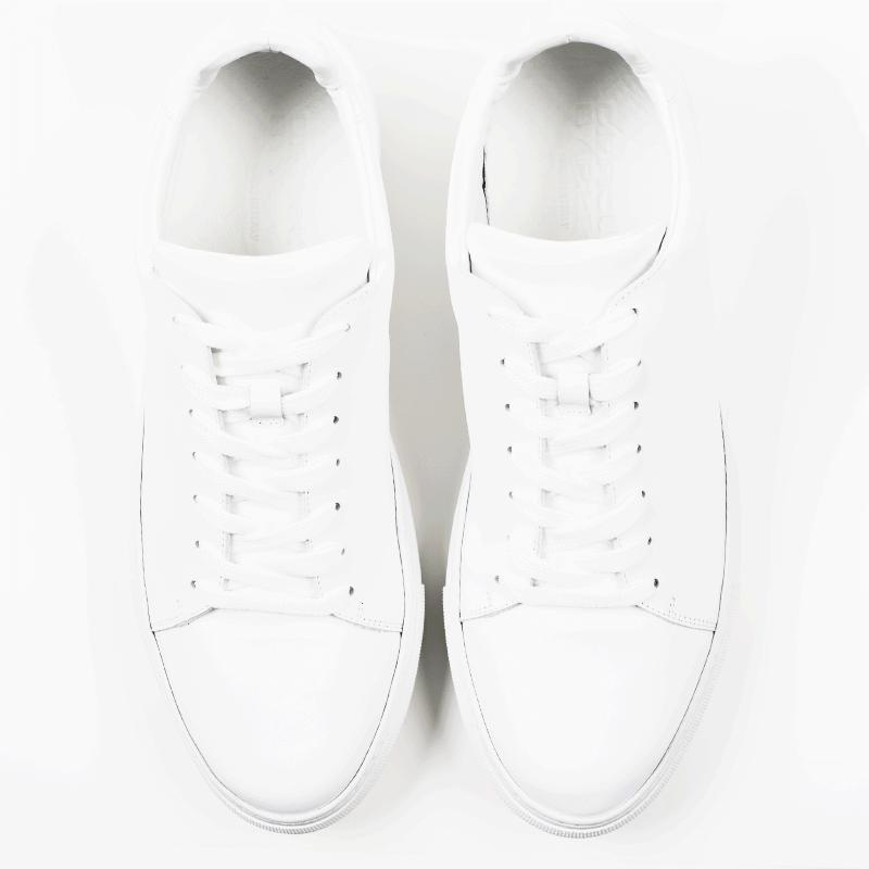Ladies Madison White Sneaker